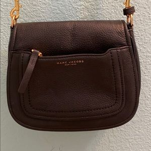 Empire City Leather Crossbody Messenger Bag